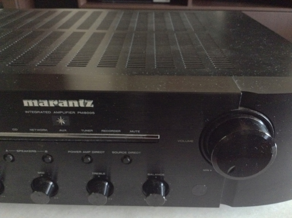 PM8005 Integrated Amplifier free Power Cord and RCA Cable Img_0215