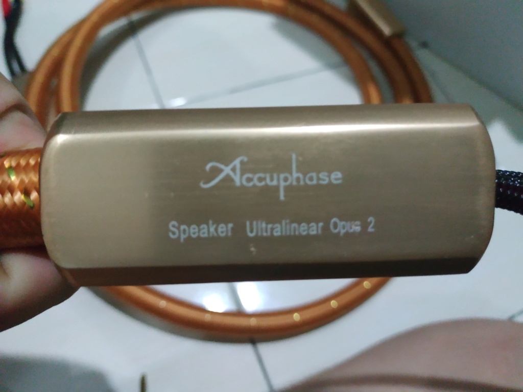 Accuphase Ultralinear Opus 2 Speaker Cable 2.5 Meter Img_2012