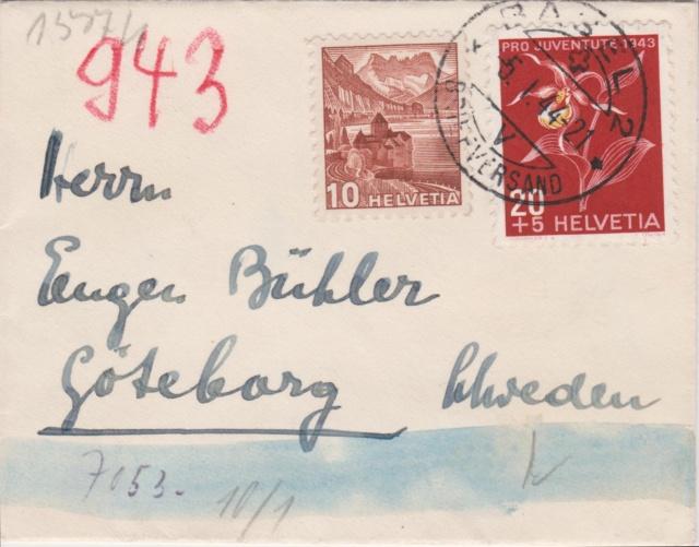 Chemische Zensur auf Belegen aus der Schweiz 00114