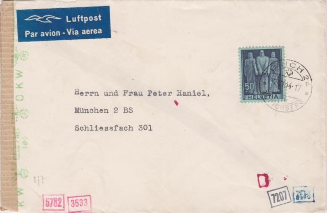 Chemische Zensur auf Belegen aus der Schweiz 00212