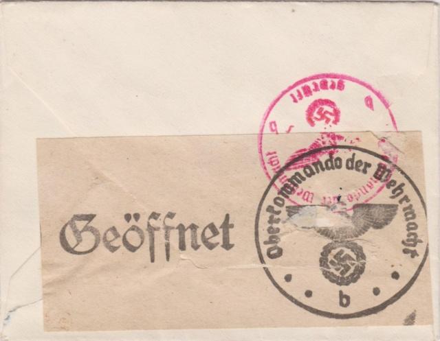 Chemische Zensur auf Belegen aus der Schweiz 00214