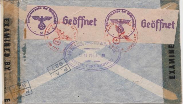 In die Schweiz gelaufene Zensurbelege 00215