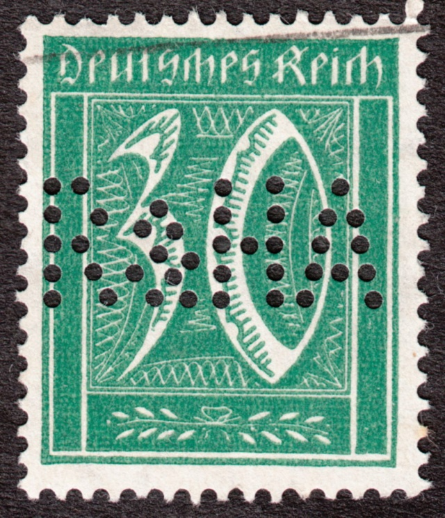 """Deutsches Reich Perfin """"R&HA"""" Img47"""