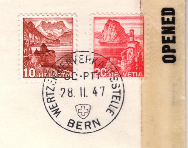 Belege aus der Schweiz, die zensiert wurden Img71
