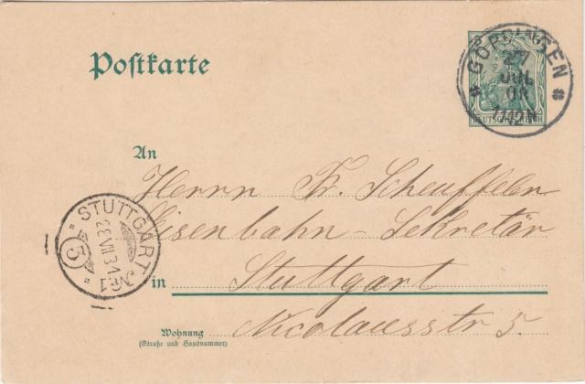 Württemberg - STUTTGART - Briefträgernummernankunftsbestellgangsstempel - Seite 2 Img81