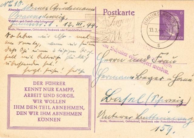 Chemische Zensur auf Belegen in die Schweiz  Img_0030