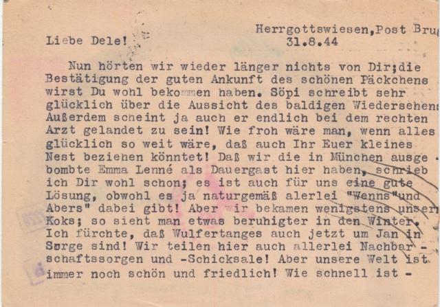 Chemische Zensur auf Belegen in die Schweiz  Img_0031