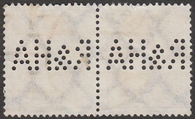 """Deutsches Reich Perfin """"R&HA"""" Img_0144"""