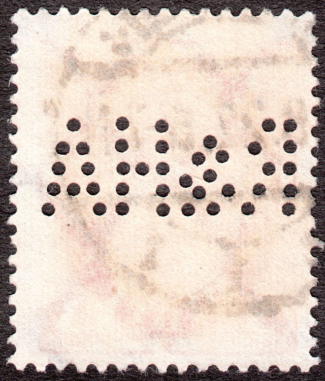 """Deutsches Reich Perfin """"R&HA"""" Img_0145"""