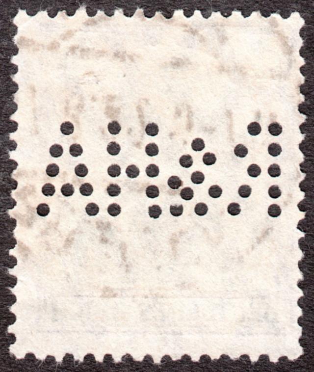"""Deutsches Reich Perfin """"R&HA"""" Img_0146"""