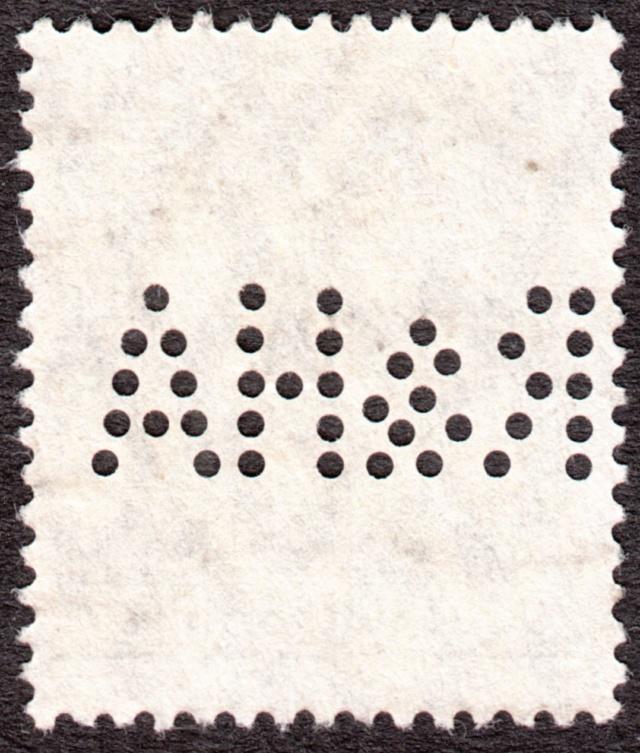 """Deutsches Reich Perfin """"R&HA"""" Img_0148"""