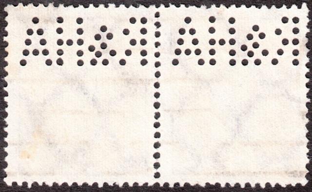 """Deutsches Reich Perfin """"R&HA"""" Img_0150"""