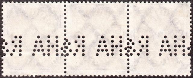 """Deutsches Reich Perfin """"R&HA"""" Img_0152"""