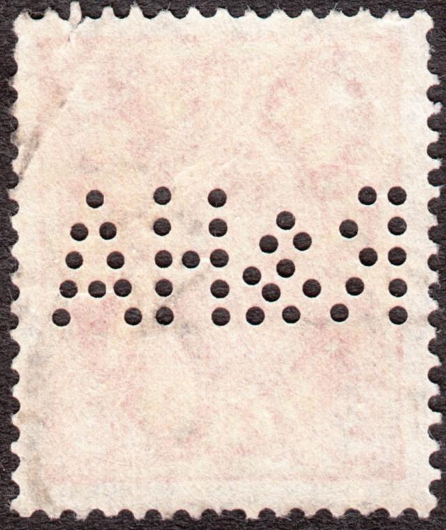 """Deutsches Reich Perfin """"R&HA"""" Img_0153"""