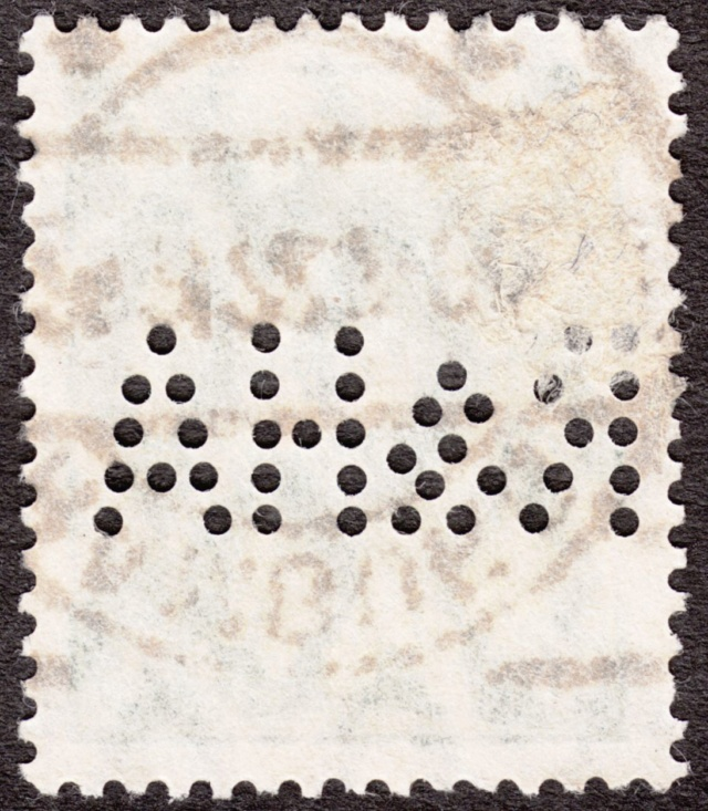 """Deutsches Reich Perfin """"R&HA"""" Img_0156"""