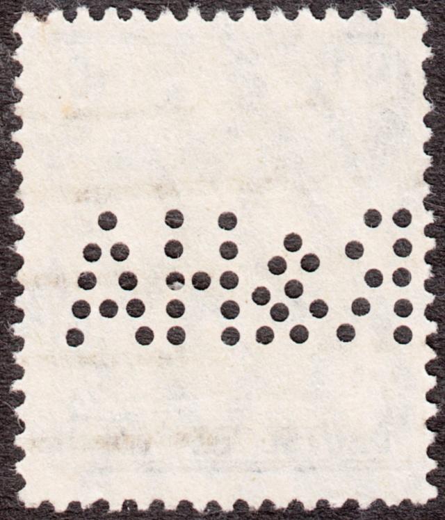 """Deutsches Reich Perfin """"R&HA"""" Img_0158"""