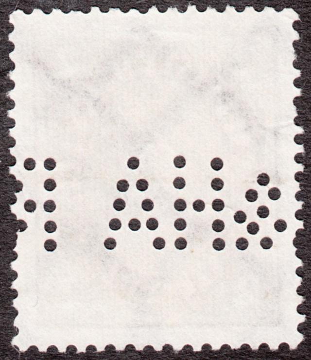 """Deutsches Reich Perfin """"R&HA"""" Img_0160"""