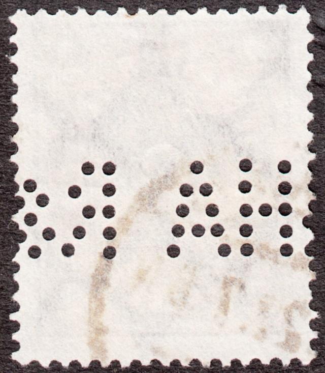 """Deutsches Reich Perfin """"R&HA"""" Img_0162"""