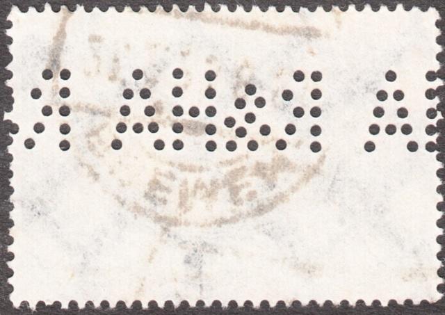 """Deutsches Reich Perfin """"R&HA"""" Img_0168"""