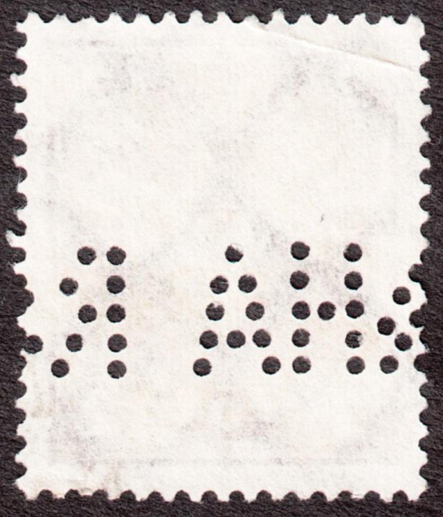 """Deutsches Reich Perfin """"R&HA"""" Img_0170"""