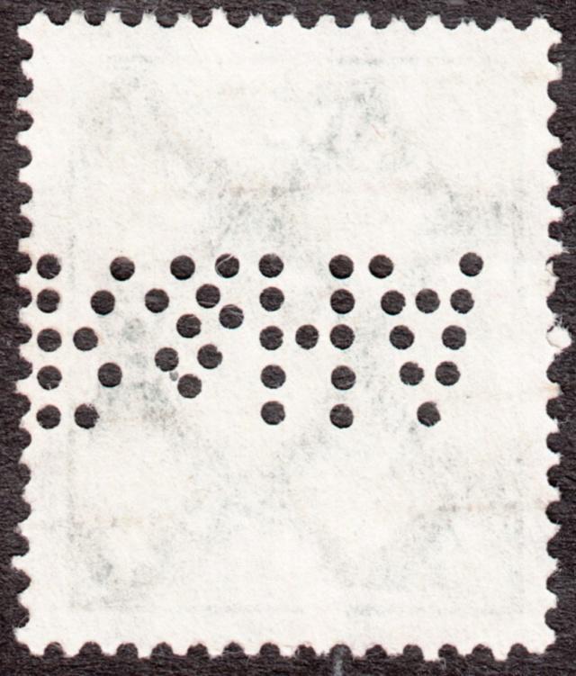 """Deutsches Reich Perfin """"R&HA"""" Img_0172"""