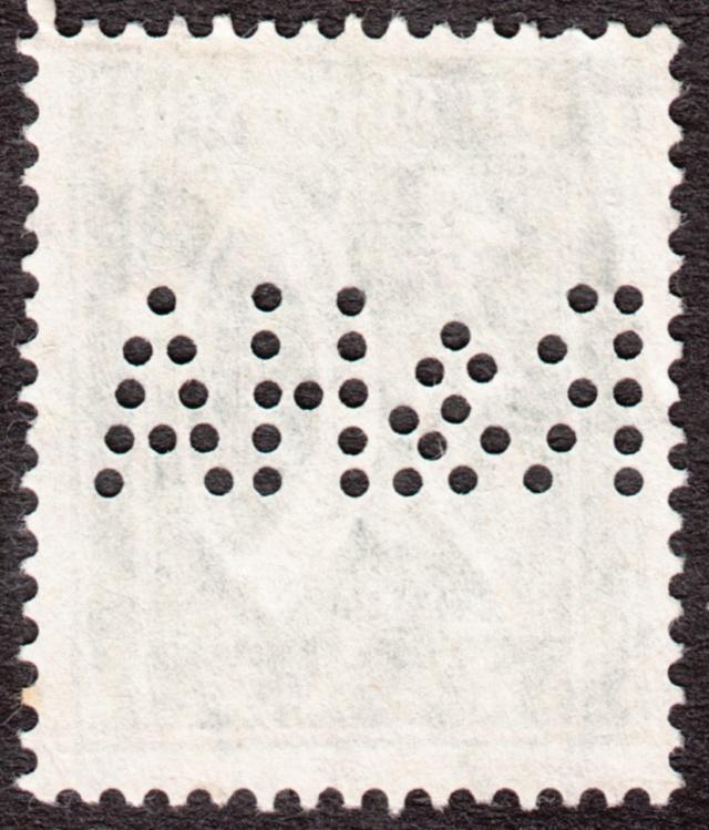 """Deutsches Reich Perfin """"R&HA"""" Img_0174"""
