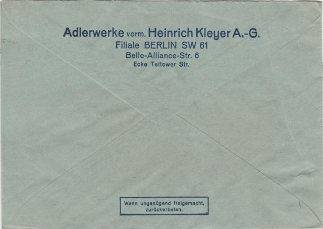 """Deutsches Reich Perfin """"AW"""" Berlin Img_0192"""