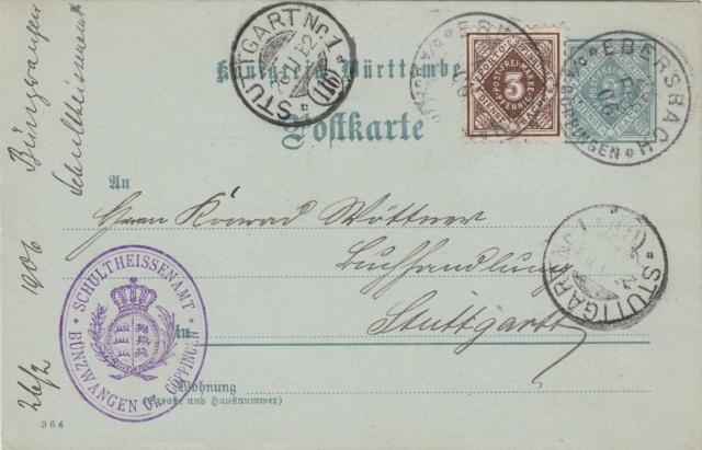 Württemberg - STUTTGART - Briefträgernummernankunftsbestellgangsstempel - Seite 2 Img_0272