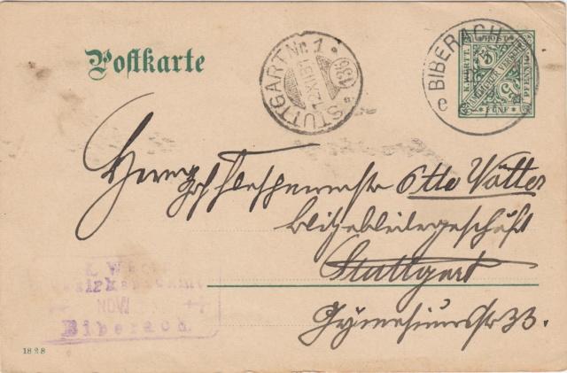 Württemberg - STUTTGART - Briefträgernummernankunftsbestellgangsstempel - Seite 2 Img_0275
