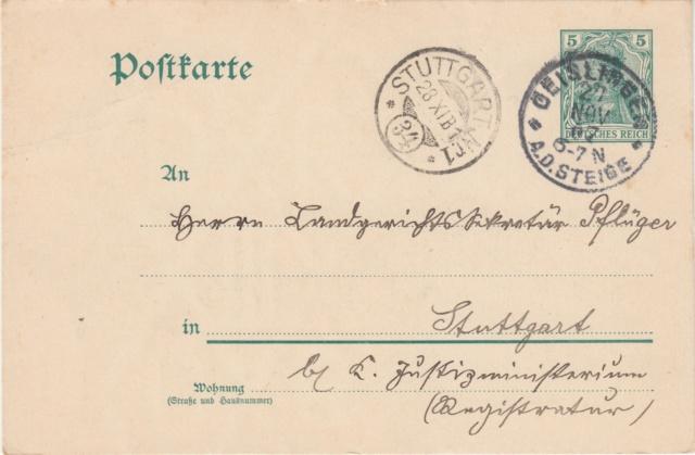 Württemberg - STUTTGART - Briefträgernummernankunftsbestellgangsstempel - Seite 2 Img_0283