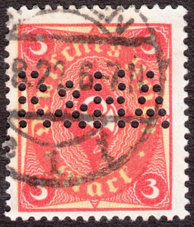 """Deutsches Reich Perfin """"R&HA"""" Img_ko36"""