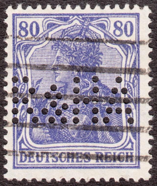 """Deutsches Reich Perfin """"R&HA"""" Img_ko41"""