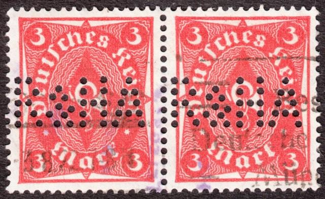 """Deutsches Reich Perfin """"R&HA"""" Img_ko42"""