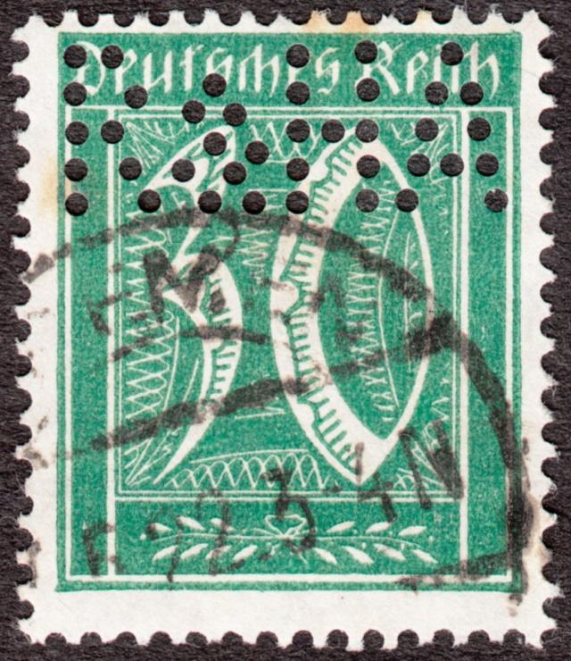 """Deutsches Reich Perfin """"R&HA"""" Img_ko44"""