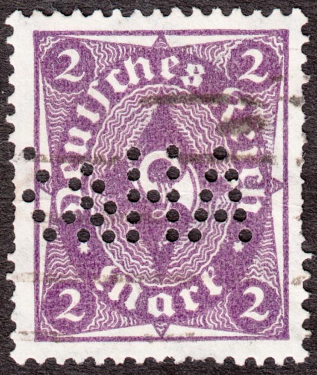 """Deutsches Reich Perfin """"R&HA"""" Img_ko45"""