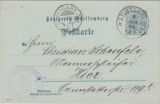 Württemberg - STUTTGART - Briefträgernummernankunftsbestellgangsstempel - Seite 2 Img_ko82