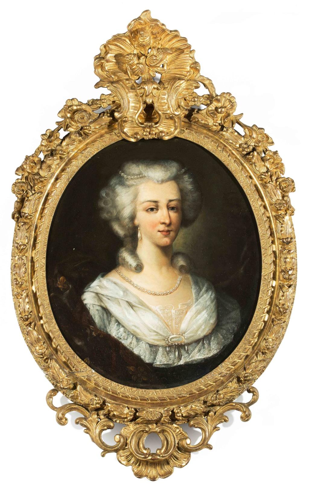 Louis XVI et Marie-Antoinette par Duplessis ? 3220-210