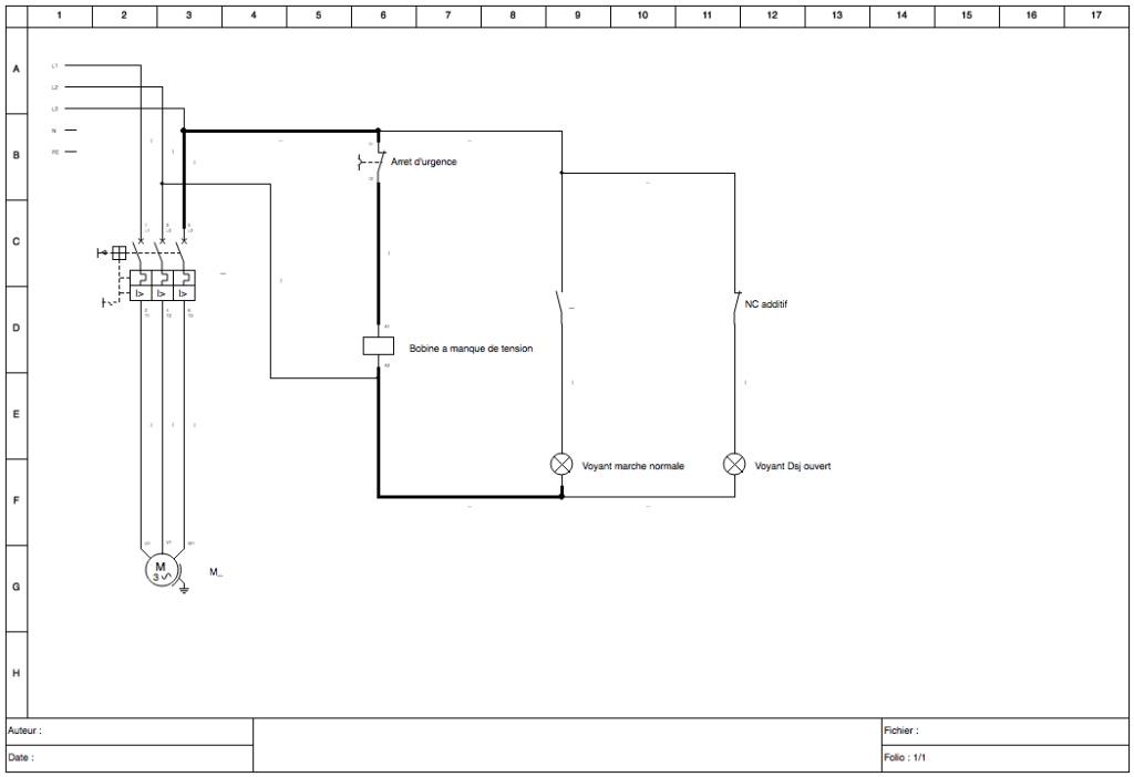 Câblage bobine manque de tension et disjoncteur Schema10