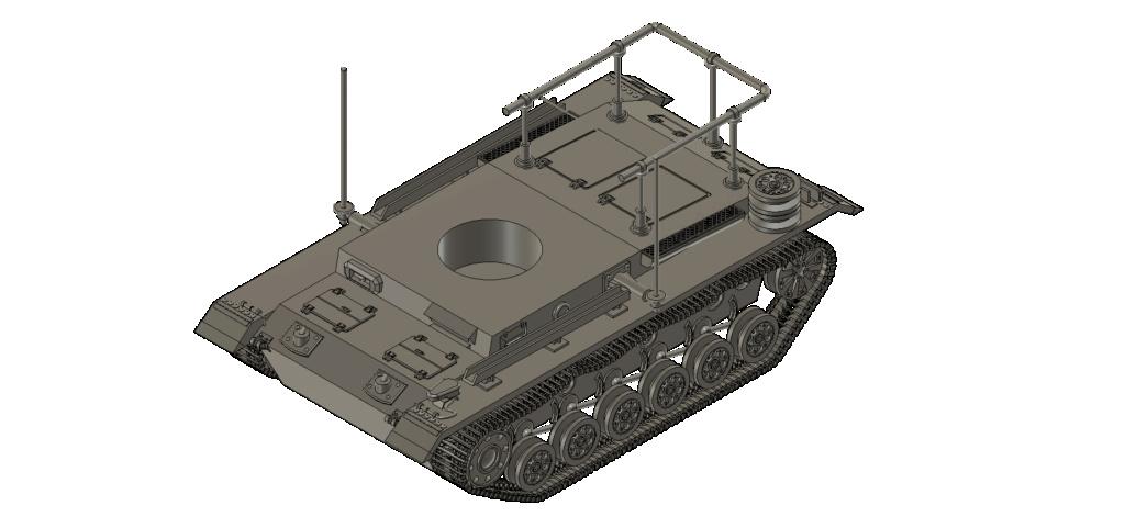 SDKFZ 267 PzBefWg III - Ausf E - Command Tank Sdkfz_11