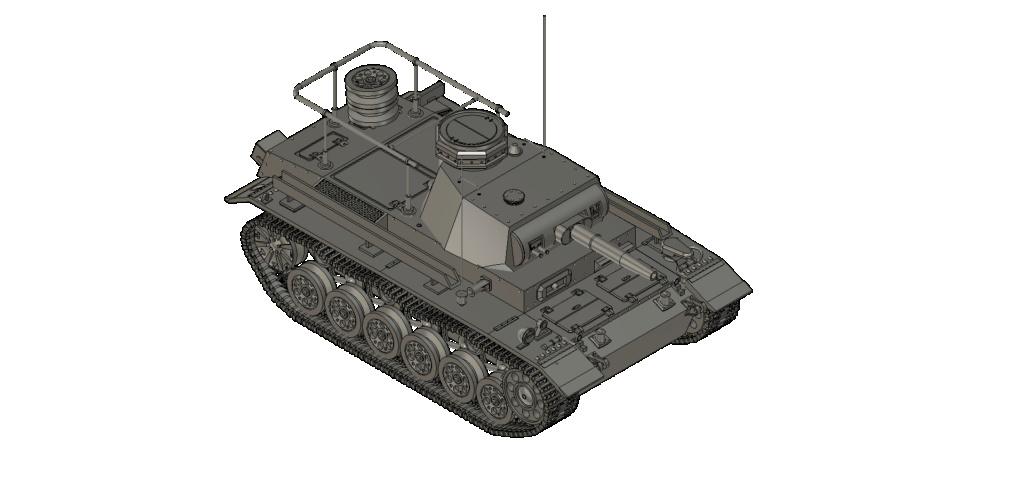 SDKFZ 267 PzBefWg III - Ausf E - Command Tank Sdkfz_12
