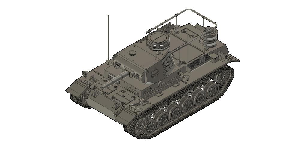 SDKFZ 267 PzBefWg III - Ausf E - Command Tank Sdkfz_13