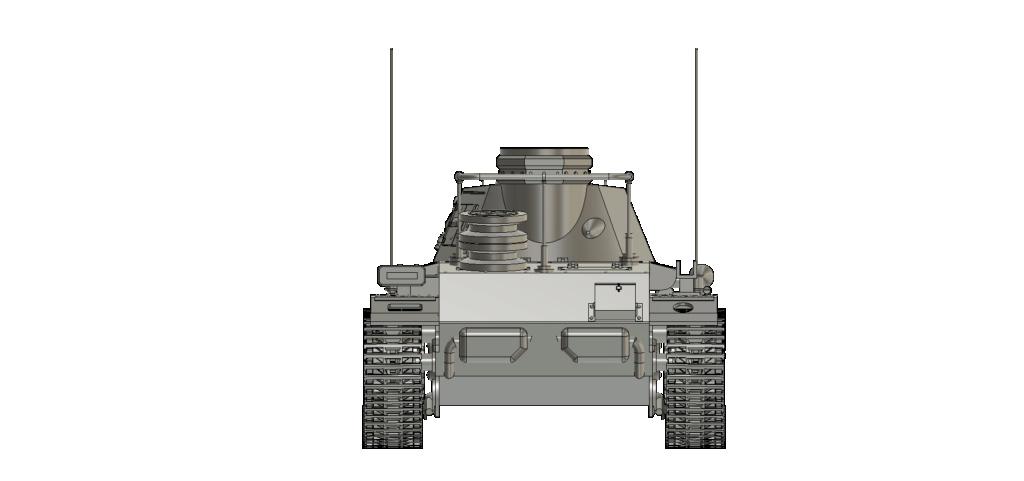 SDKFZ 267 PzBefWg III - Ausf E - Command Tank Sdkfz_14