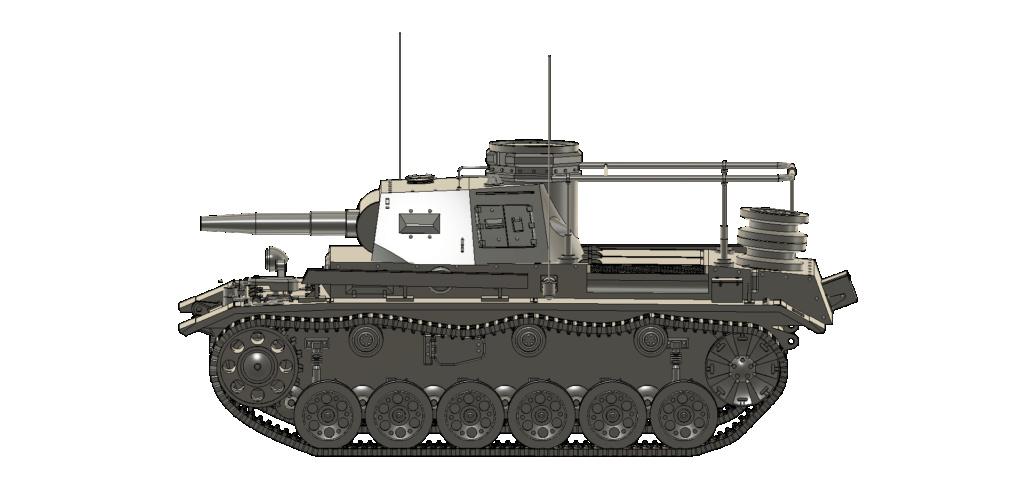 SDKFZ 267 PzBefWg III - Ausf E - Command Tank Sdkfz_16