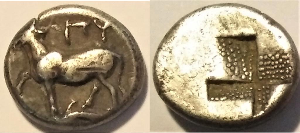 Hemidracma de Byzantion 411-387/6 a.C. Hemidr10