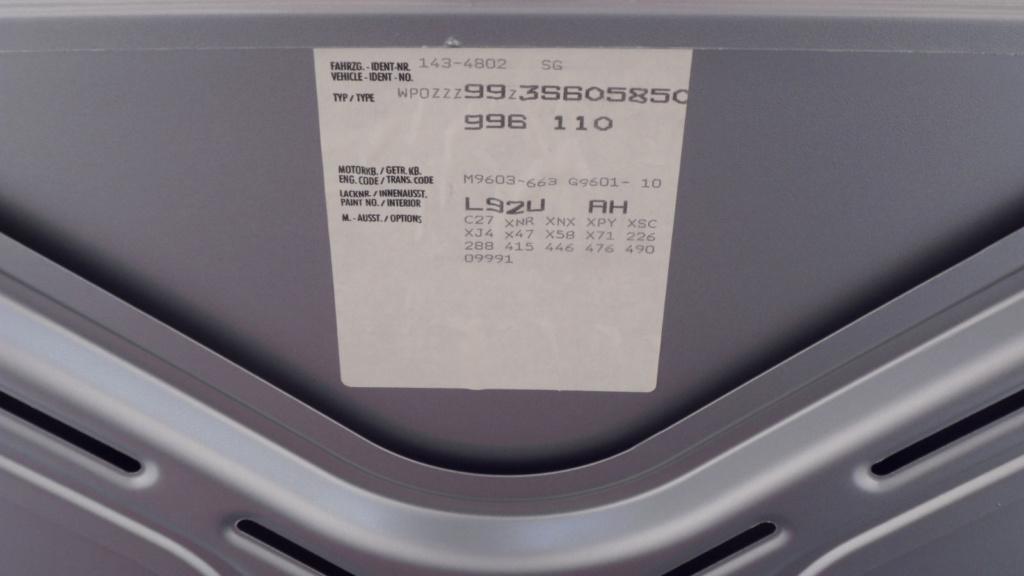 Vend 996 C2 3.6L de 2003 Sam_0510