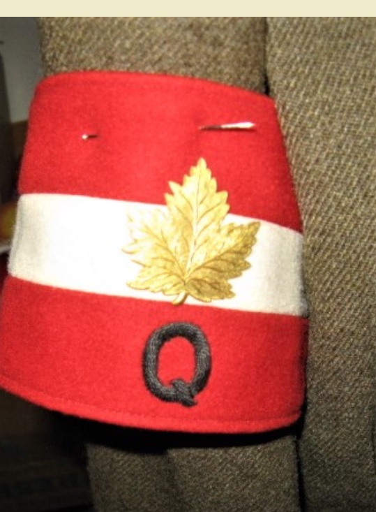 Canadian Quartermaster Armband 9acbc610