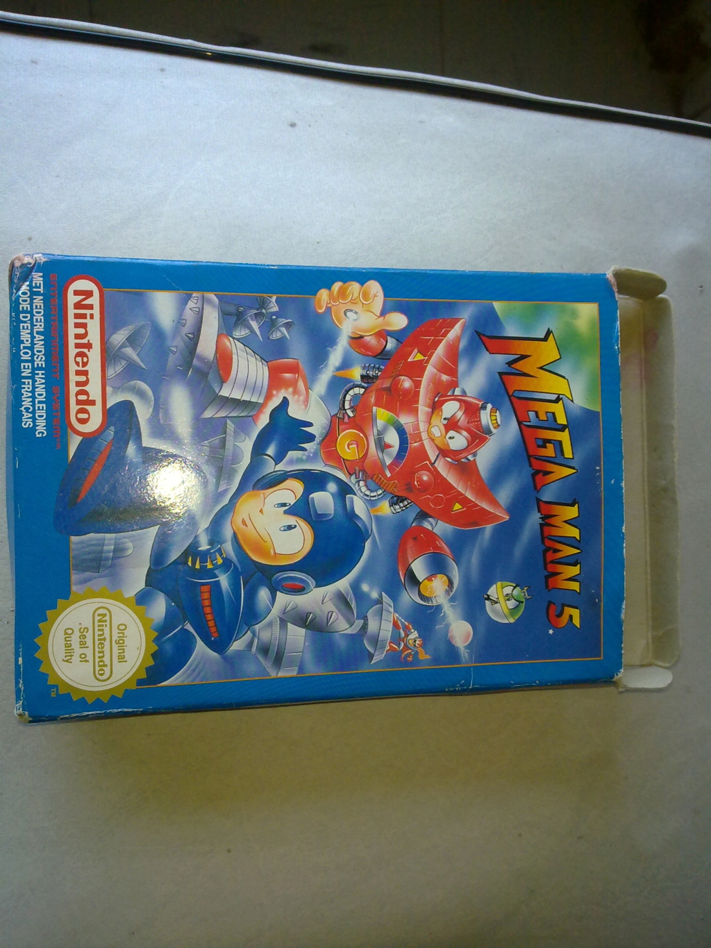 Estimation Mega-man 5  23072017