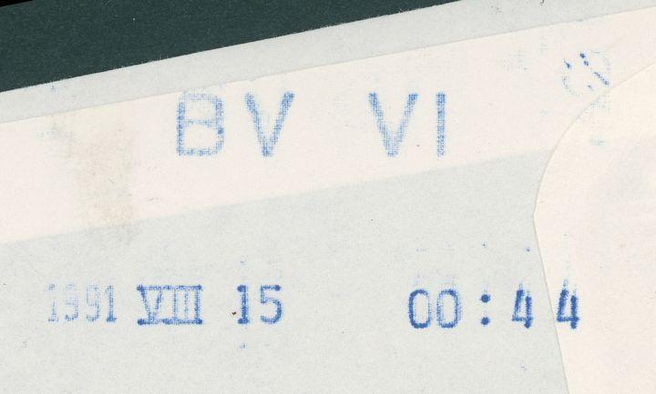 Eilsendung - Stempeldeutung Bv-vi-10