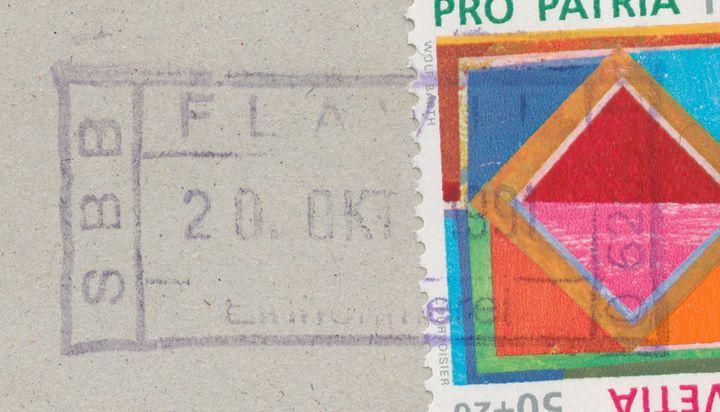 Bahnpoststempel - Inschrift Flawil10