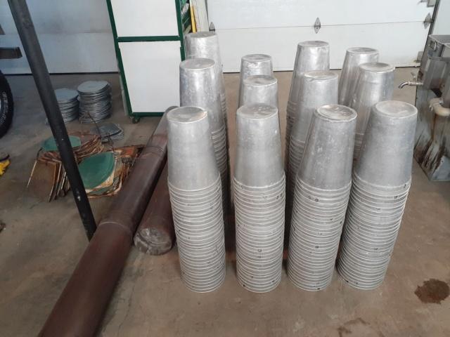 188 Chaudières d'eau d'érable 2 gallons en aluminium 68893217